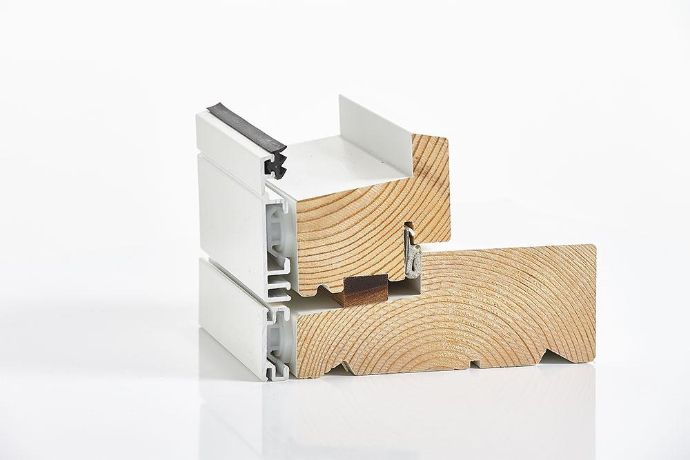 Træ/alu døre - Coverline
